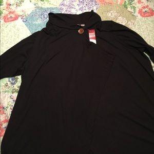 Black sweater light weight